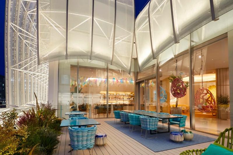 Louis Vuitton First Restaurant Cafe Osaka Japan Lvmh Announcement 005