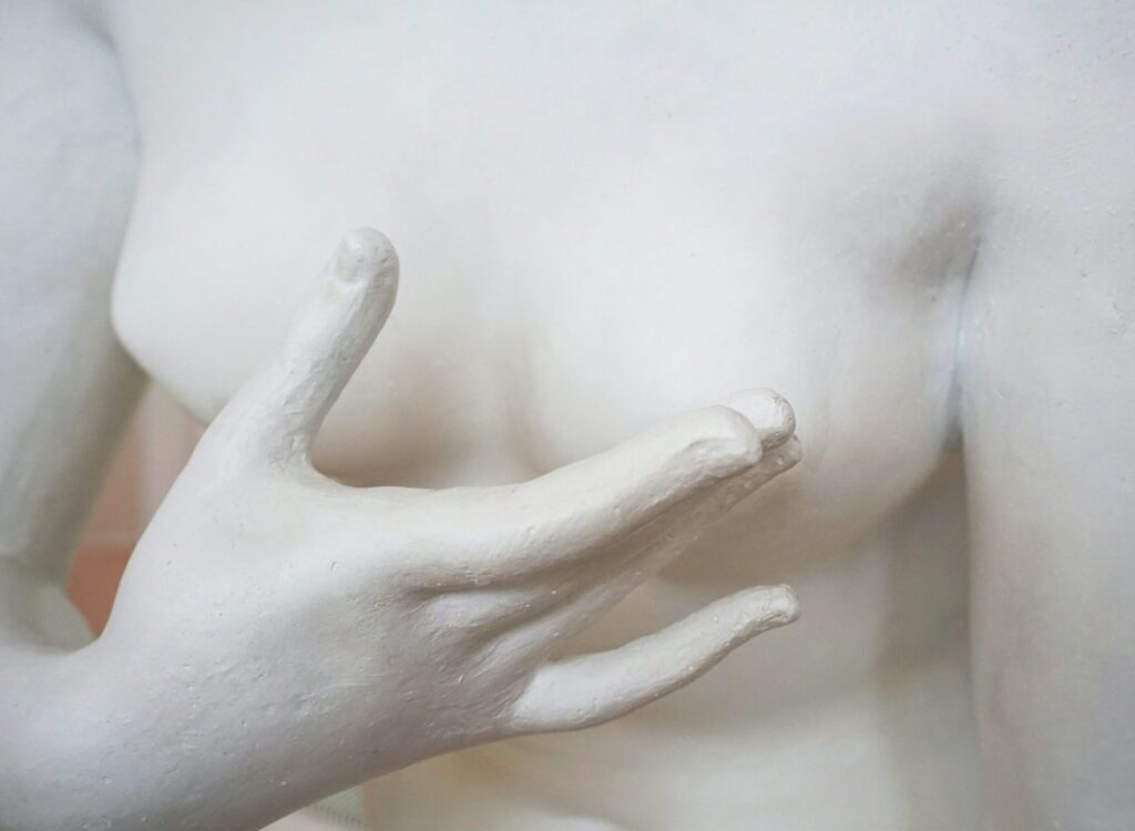 nude woman figurine